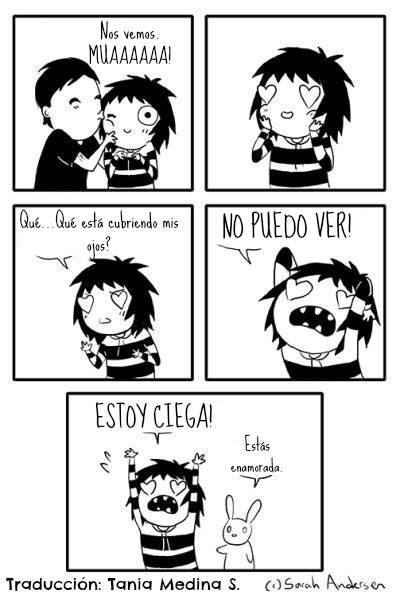 expresar amor en español comic