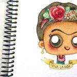 Dibujo Frida Kahlo