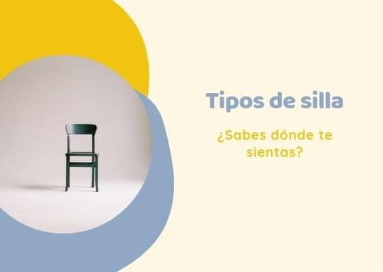 tipos de silla en español