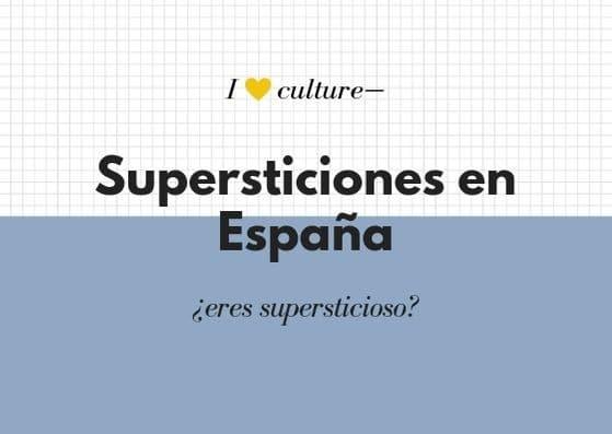 Supersticiones en España