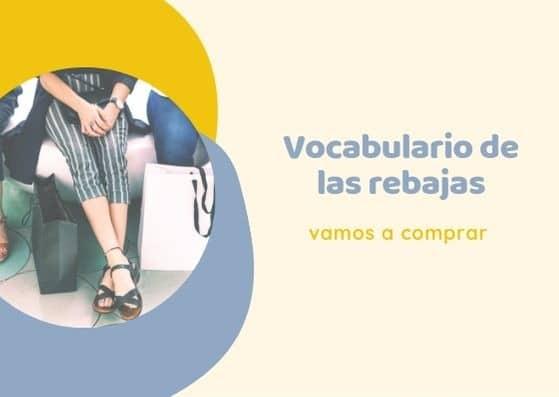 vocabulario en español de rebajas