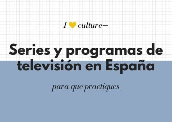 Series y programas de TV de España