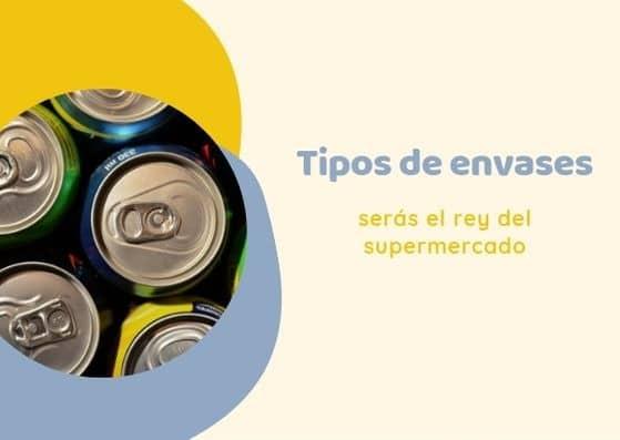 Tipos de envases en español