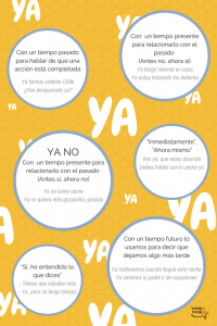 Usos de YA
