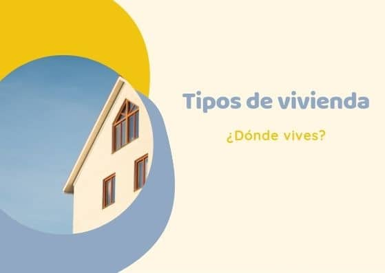 tipos de vivienda en español