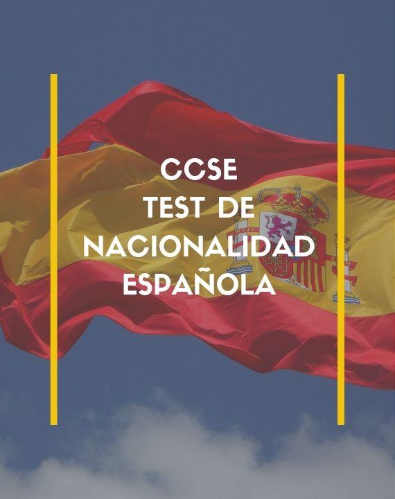 CCSE: El test de nacionalidad española
