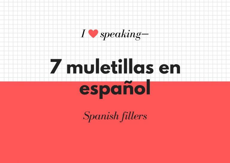 muletillas en español