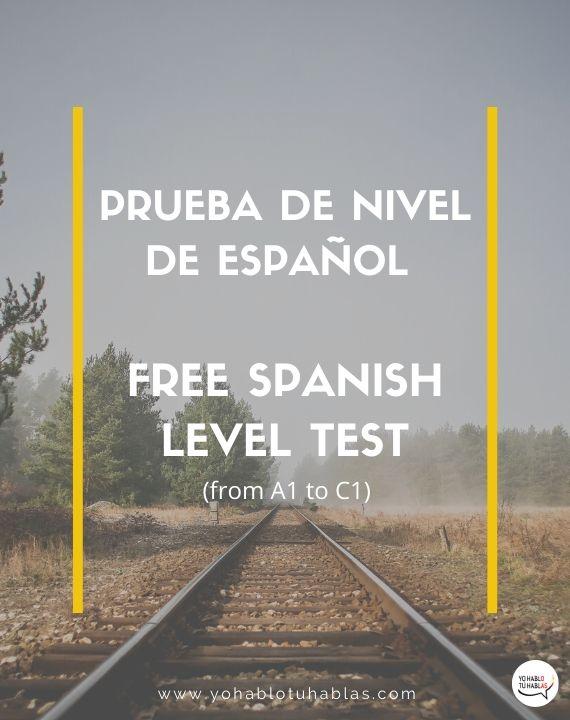 free Spanish test level