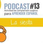 podcast en español sobre la siesta