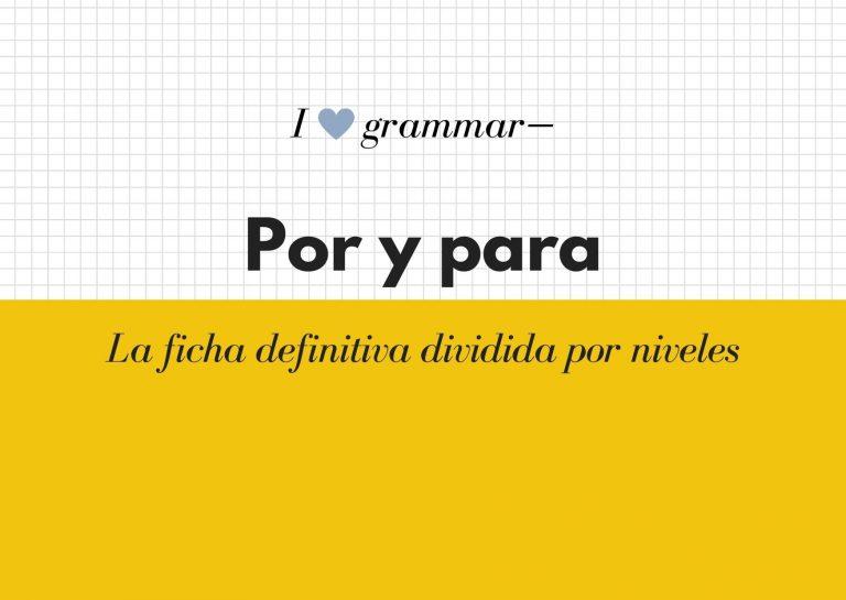 español con fluidez