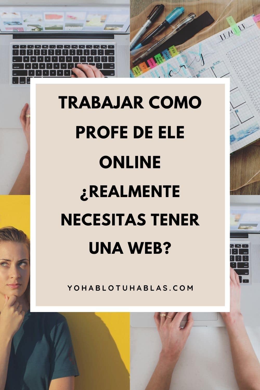 Trabajar como profesor de ELE online